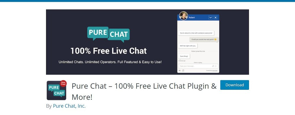 Pure chat plugin
