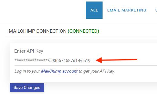 step three: configure mailchimp plugin
