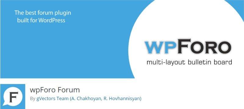 1. wpForo Forum