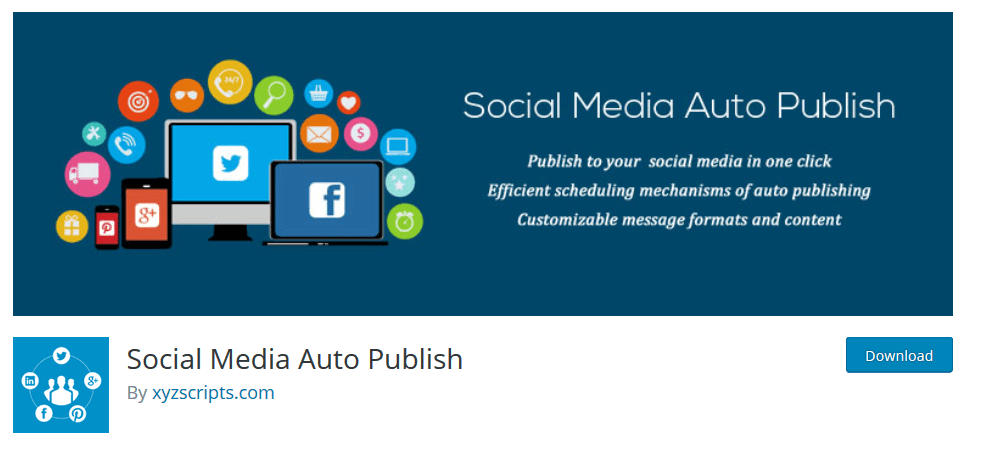 Social Media Auto Publish Plugin