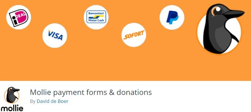 Mollie payment forms & donations Plugin