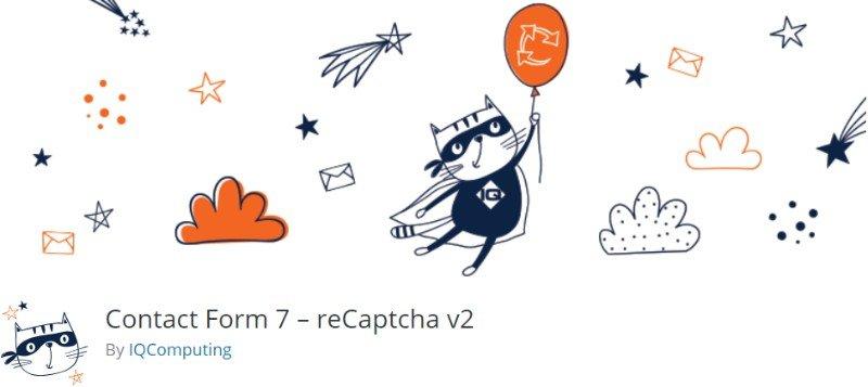 Contact Form 7 - recaptcha v2