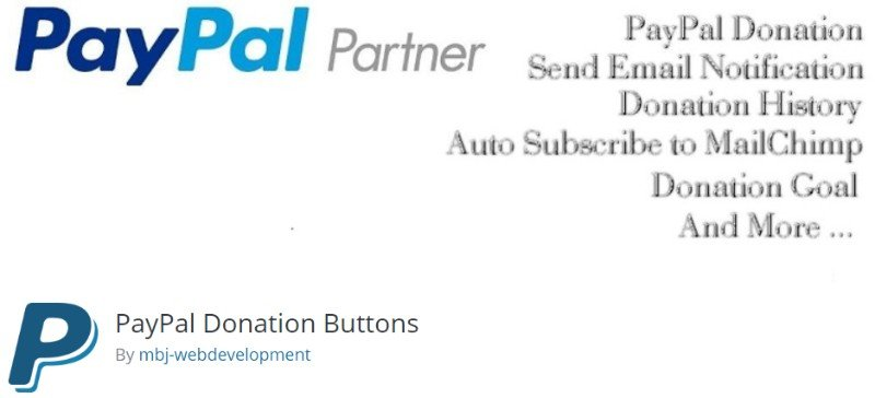 PayPal Donation Buttons Plugin
