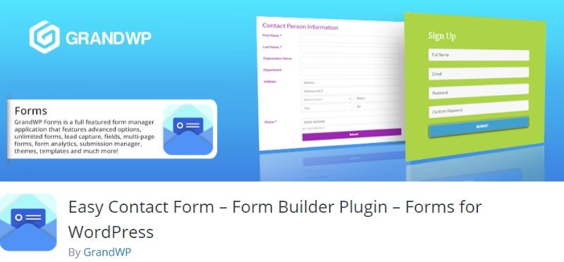 Free 10 Best Contact form Plugins for WordPress - WPvivid com