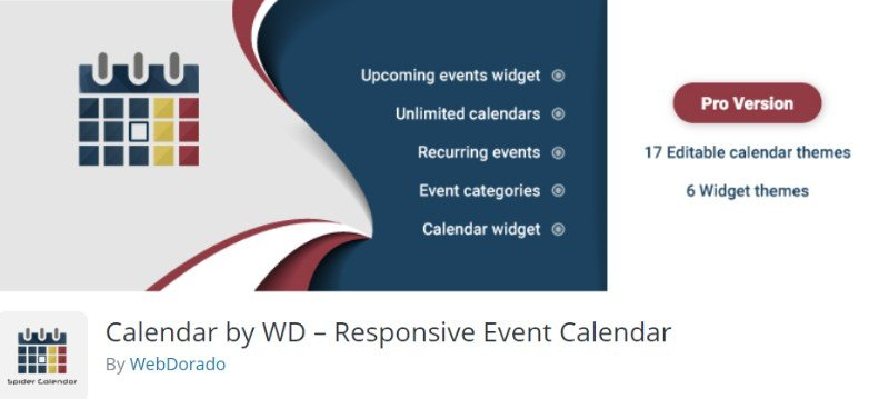 Calendar by WD
