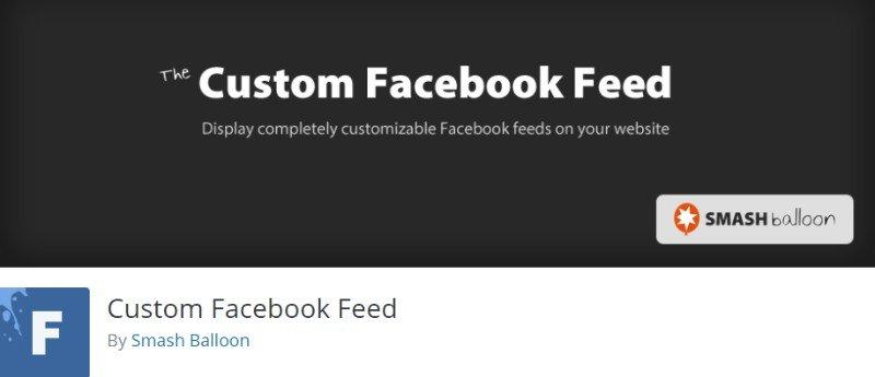 Custom Facebook Feed by Smash Balloon