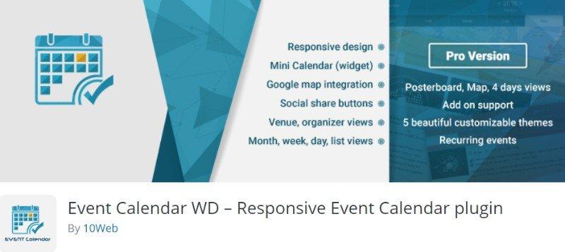 Event Calendar WD