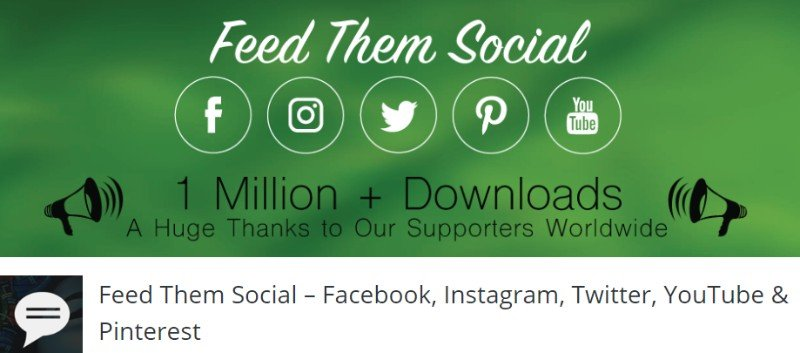 Top 10 Social Media Feed Widget Plugins For WordPress