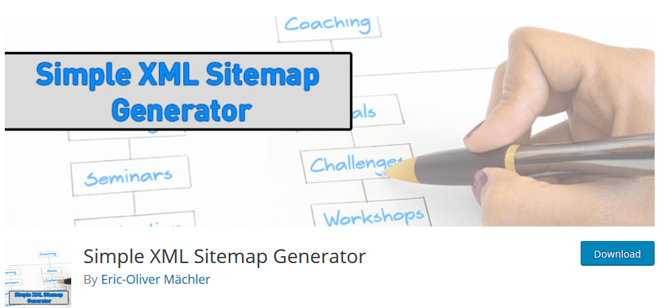 Simple XML Sitemap Generator