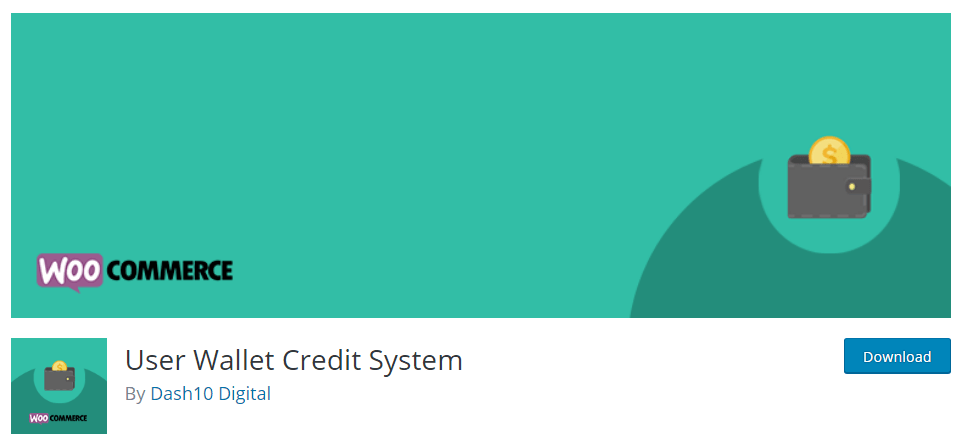 User Wallet Credit System plugin in WordPress