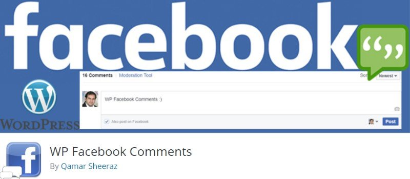 WP Facebook Comments system plugin