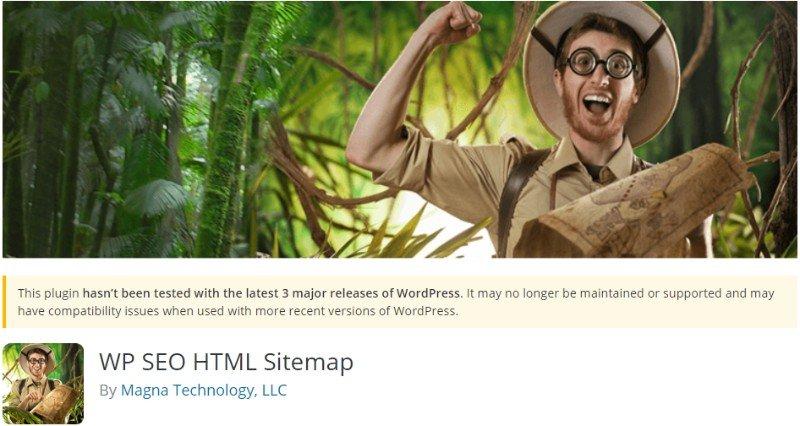 WP SEO HTML Sitemap