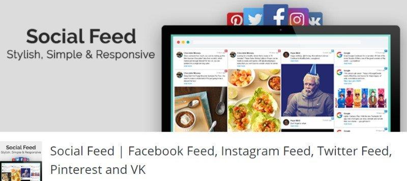 WP Social Feed