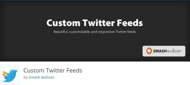 custom twitter feeds by Smash Balloon