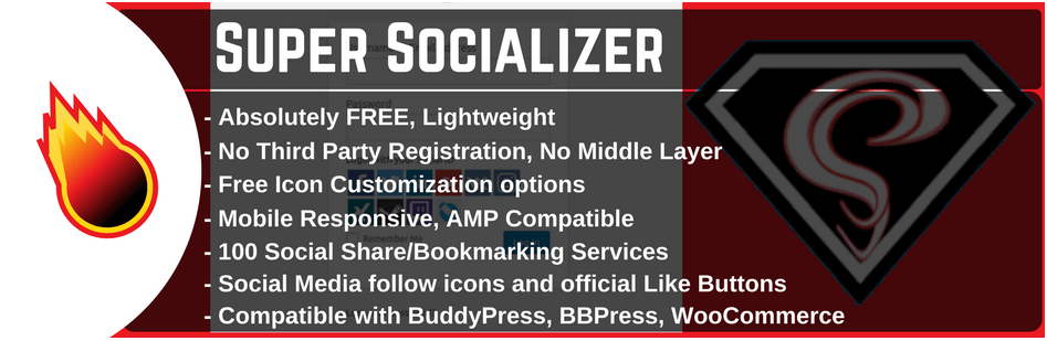 Super Socializer Plugin