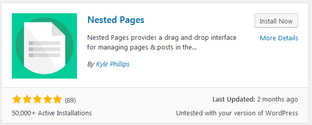 Install Nested pages