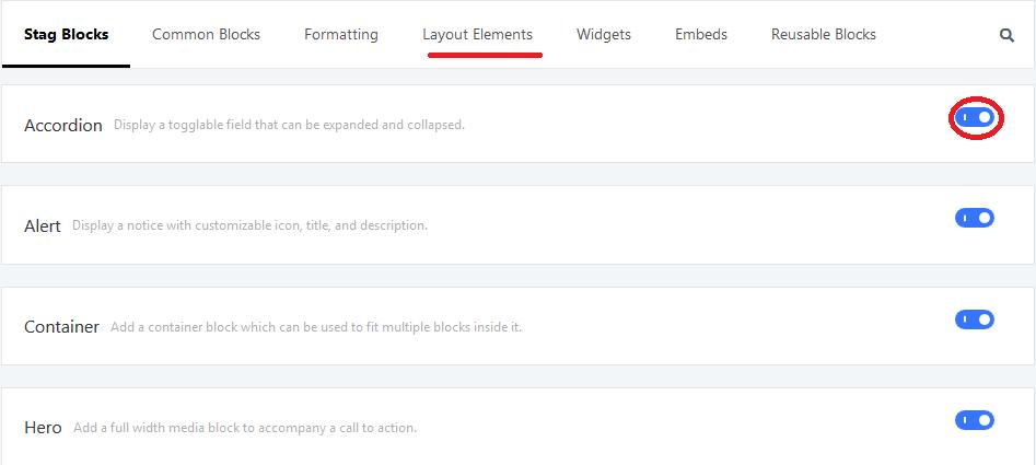 postgrid settings tab options