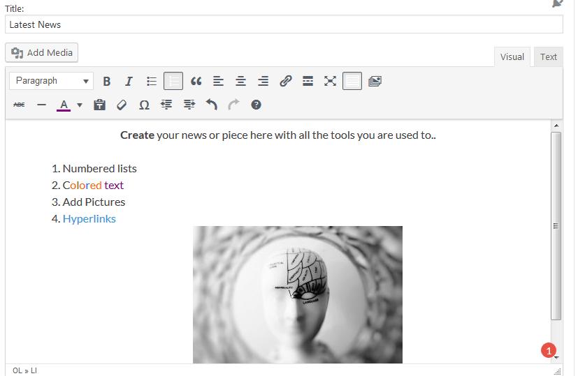visual-editor-add content