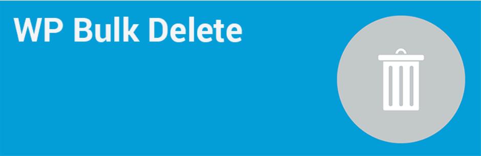 wp bulk delete plugin