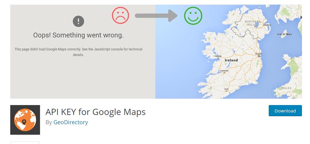 API KEY For Google Maps plugin in WordPress