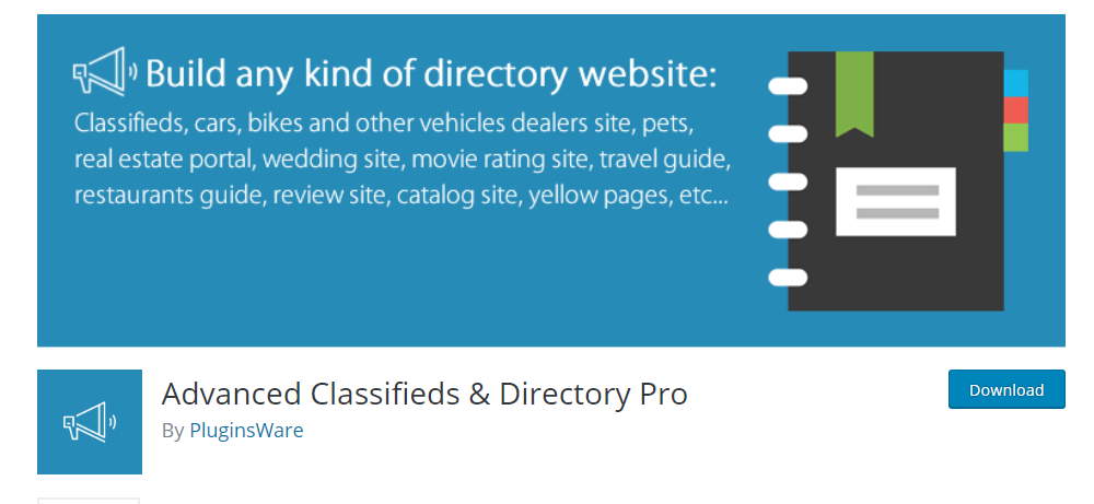 Advanced Classified And Directory Pro