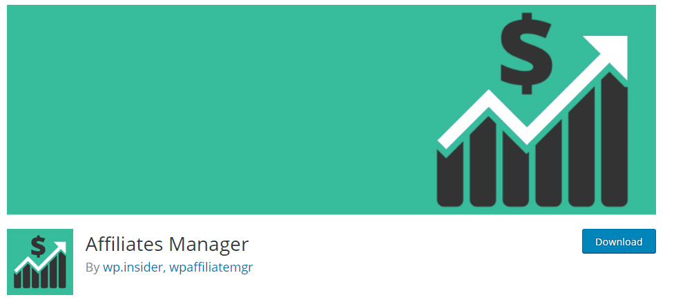 Affiliates Manager plugin in wordpress