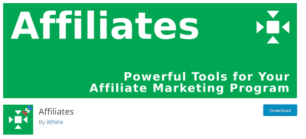 Affiliates plugin by ithnix