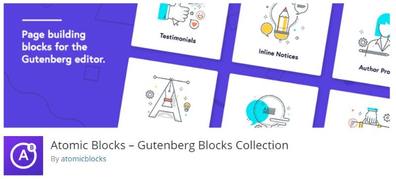 Atomic Blocks plugin in wordpress
