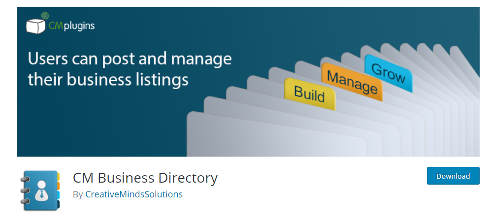 CM Business Directory plugin in wordpress