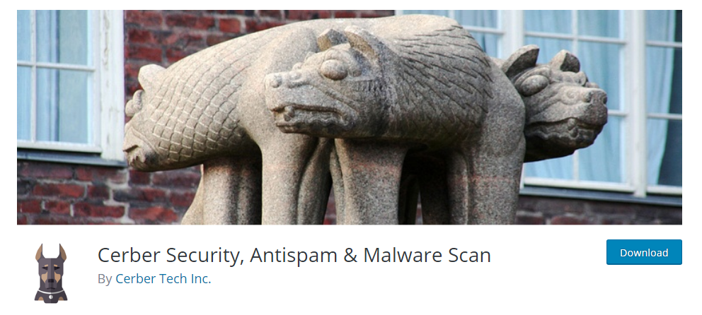 Cerber Security, Antispam Malware Scan plugin