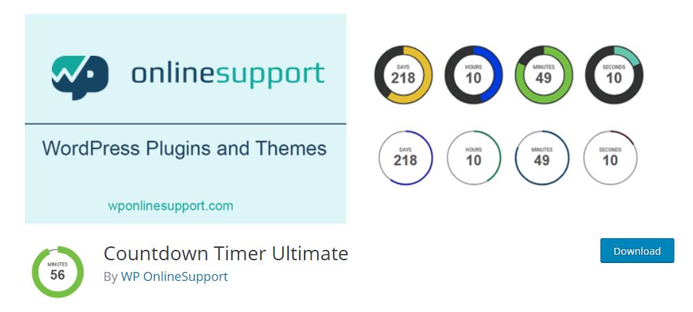 Countdown Timer Ultimate wordpress plugin