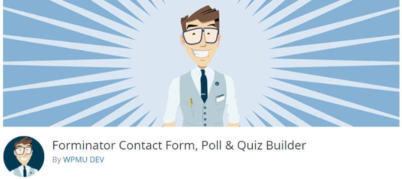 Forminator wordpress survey plugin