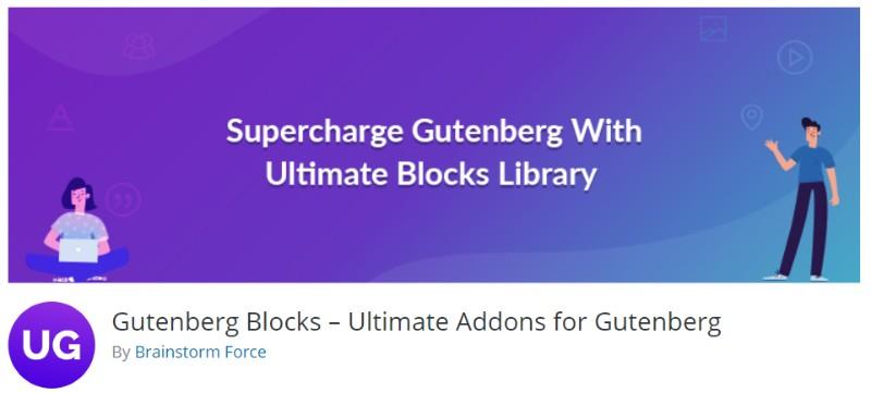 Gutenberg Blocks plugin in wordpress