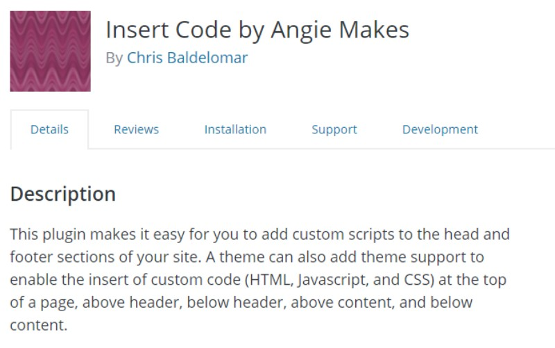 Insert Code by Angie Makes