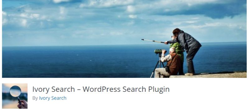 Ivory search plugin for WordPress