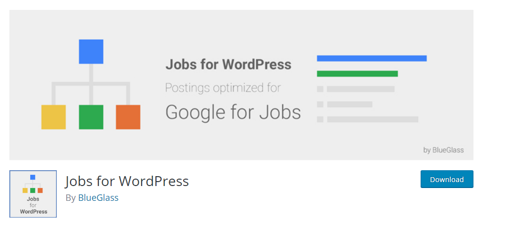 Jobs for WordPress job manager plugin