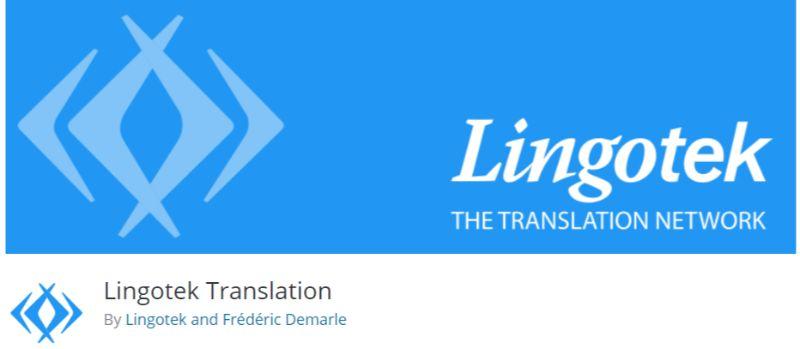 Lingotek Translation plugin for WordPress