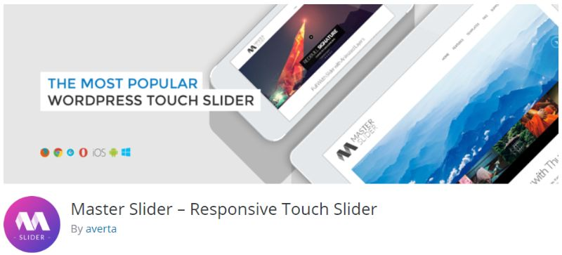 Master Slider plugin for WordPress