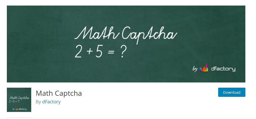 Math Captcha wordpress captcha plugin