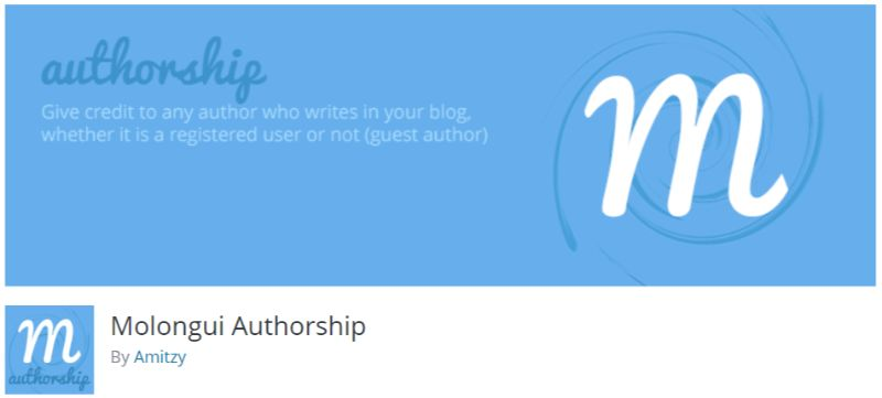 Molongui Authorship wordpress author box plugin