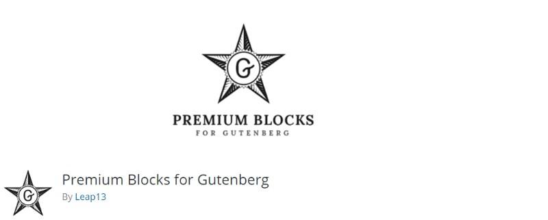 Premium Blocks for Gutenberg plugin for wordpress