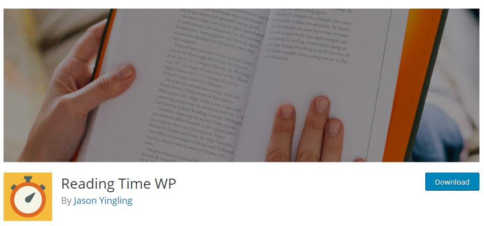 Reading Time WP plugin