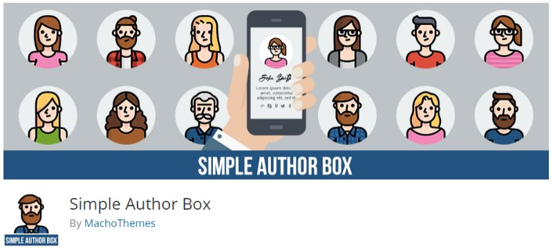 Simple Author Box wordpress plugin