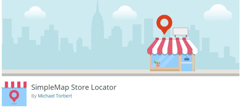 SimpleMap Store Locator plugin for WordPress