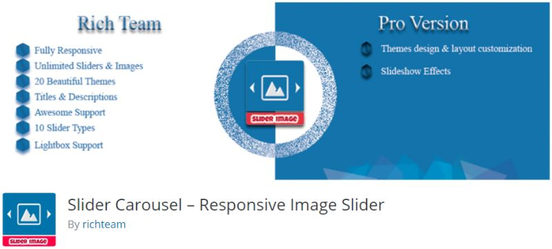 Slider Carousel plugin for WordPress