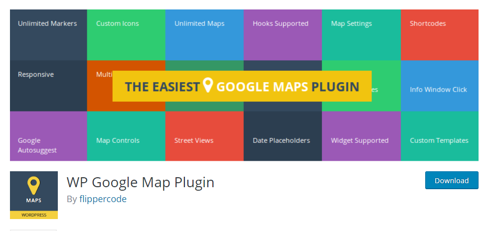 WP Google Map Plugin by FlipperCode