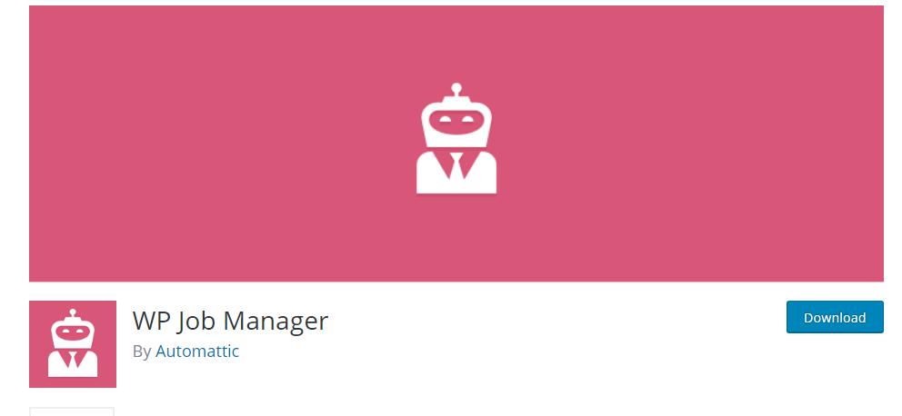 WP Job Manager plugin