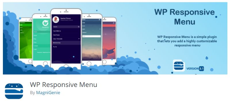 WP Responsive Menu plugin