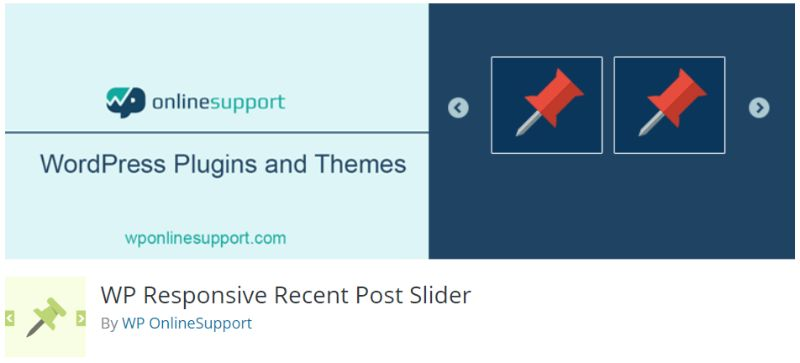 WP Responsive Recent Post Slider plugin