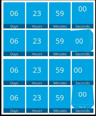 Waiting One-click Countdowns wordpress plugin design